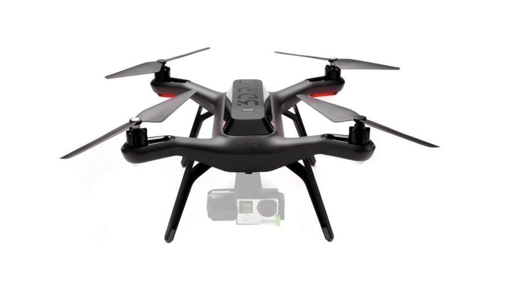 El primer drone fabricado exclusivamente para funcionar con una cámara GoPro Hero: 3DR Solo Drone