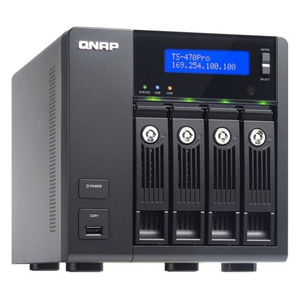 QNAP TS-470 Pro - Servidor de almacenamiento