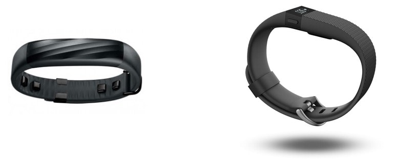 Jawbone UP3 vs Fitbit Charge HR