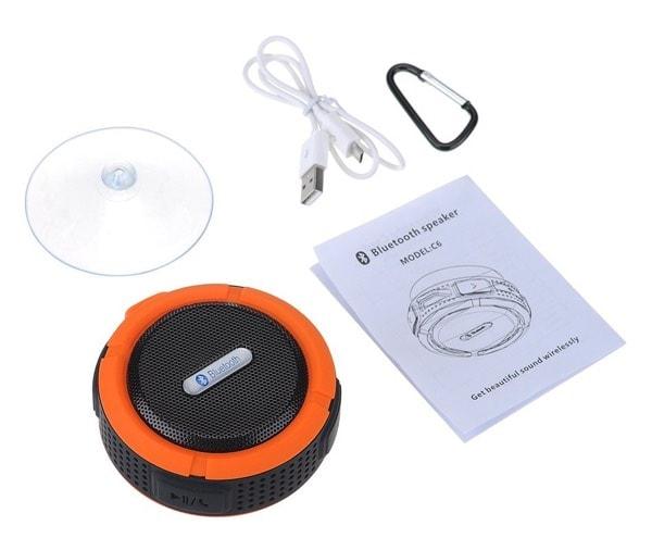 Patuoxun PA57Y-pa, el altavoz portatil a prueba de agua