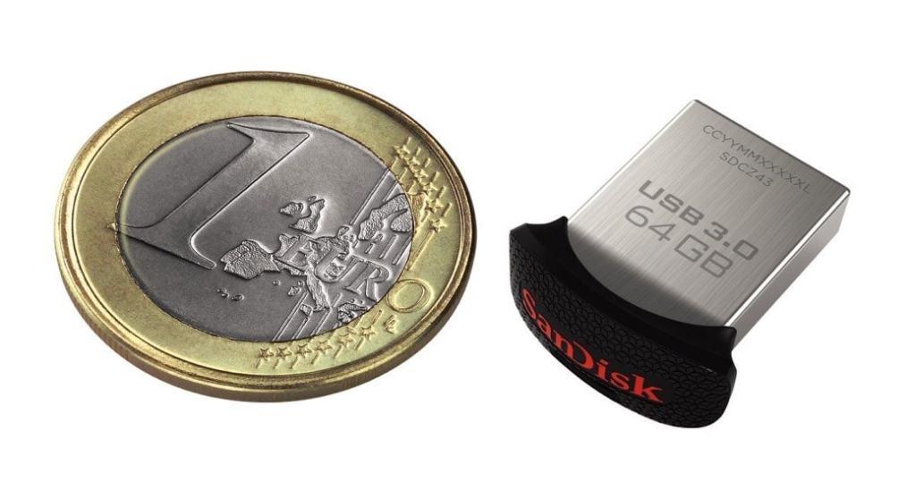 SanDisk Ultra Fit: La memoria USB más pequeña que vas a encontrar
