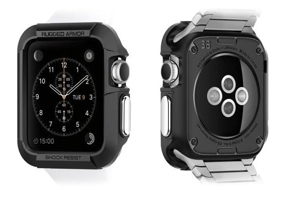 Accesorios imprescindibles para el Apple Watch: Carcasa de Spigen