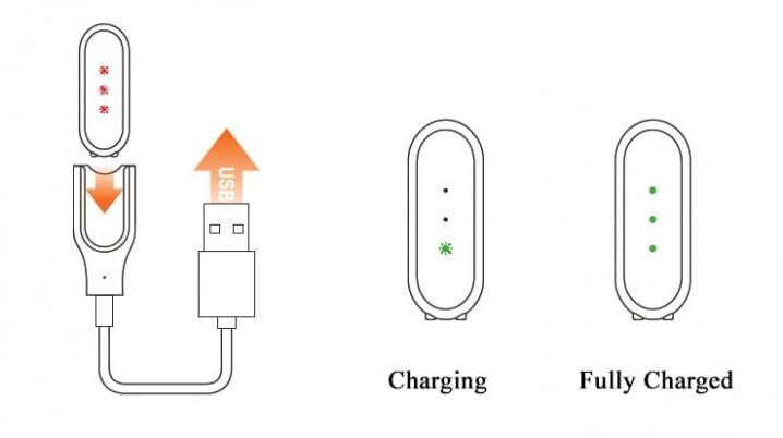10 trucos para sacarle más partido a tu Xiaomi Mi Band: carga batería