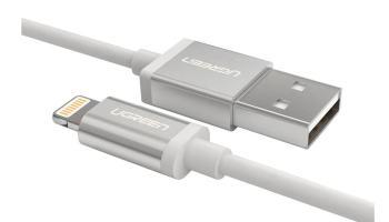 Cable Lightning certificado de Ugreen a la mitad de precio que el original de Apple