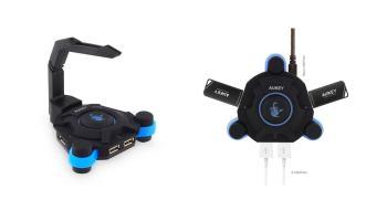 Aukey CB-G1 Gaming USB 2.0 Hub – Opinión