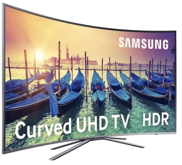 "TV SAMSUNG de 49"" LED UE49KU6500UX CURVO"