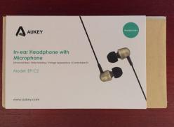 Aukey EP-C2 – Auriculares in-ear con manos libres – Opinión