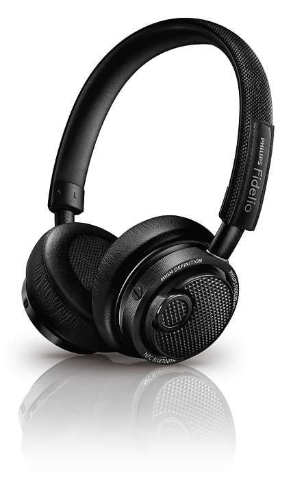 Mejores auriculares bluetooth 2015: Philips Fidelio M2BT