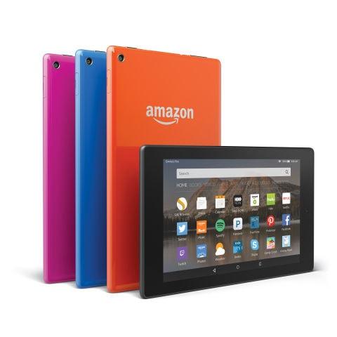 Tablets Fire HD 8 y Fire HD 10