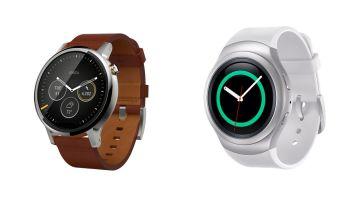 Motorola Moto 360 vs Samsung Gear S2