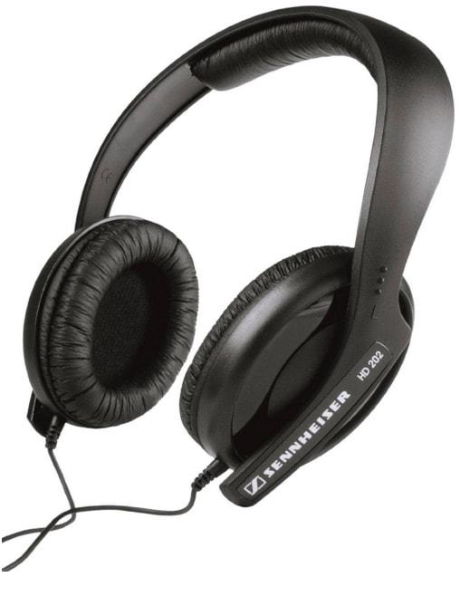 Sennheiser HD 202 II – Auriculares de diadema cerrados para compradores con bajo presupuesto – Opinión
