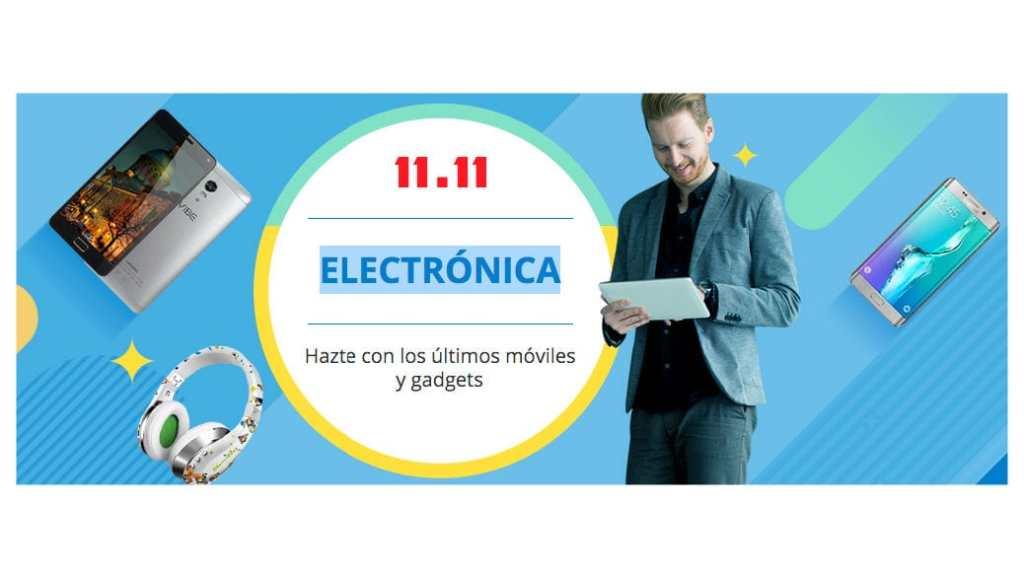 Descuentos en electrónica en AliExpress el 11 de noviembre de 2015