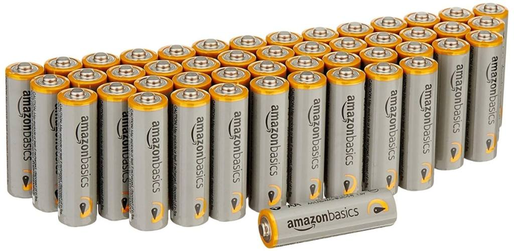 AmazonBasics - Pilas alcalinas AA 'Performance' (Paquete de 48)