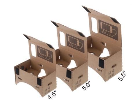 Andoer DIY - Gafas de visualización 3D Google