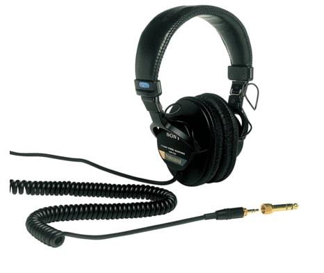 Los mejores auriculares para trabajar en casa: Sony MDR-7506/1