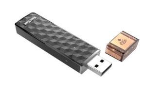 SanDisk SDWS4-064G-G46 Memoria USB + WiFi de 64 GB