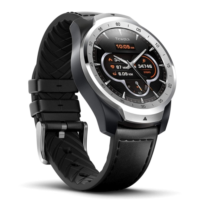 Ticwatch Pro Reloj Inteligente compatible con iOS y Android
