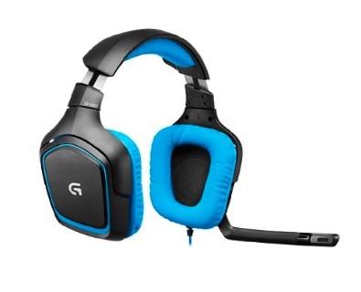 Logitech G430 - Auriculares Gaming de diadema cerrados