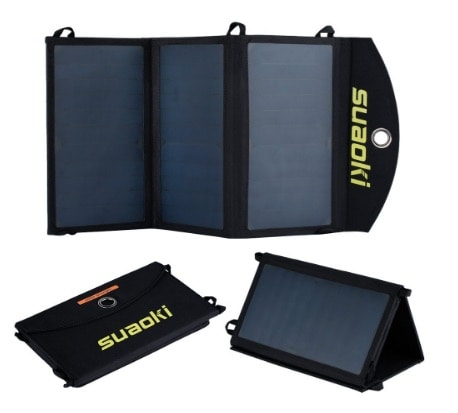 Suaoki - Cargador Solar de 20W