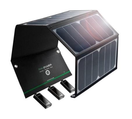RAVPower_24W_Cargador_Panel_Solar
