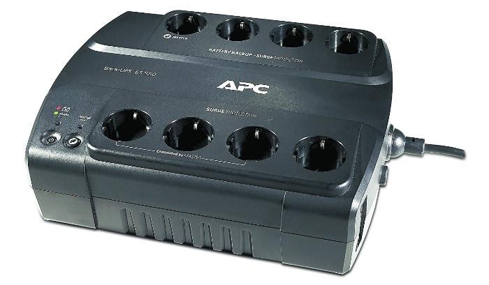 APC Back-UPS ES550 - BE550G-SP - Sistema de alimentación ininterrumpida SAI con 8 tomas