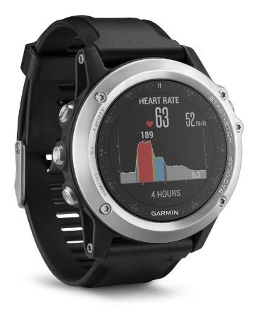 Garmin Fenix 3 HR Plata - Reloj con pulsómetro integrado por menos de 500 euros en oferta