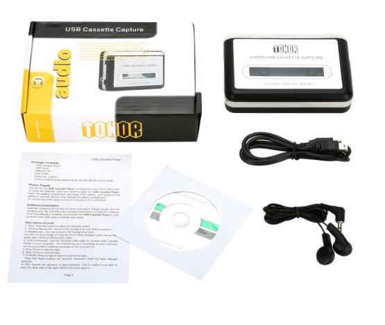 Tonor convertidor USB de cassettes a MP3 en oferta por tiempo limitado