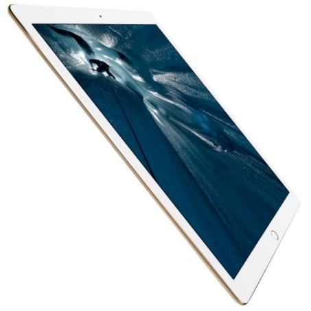 """Apple iPad Pro - Tablet de 12.9"""" (WiFi, 128 GB, 2 GB de RAM, iOS), color dorado"""