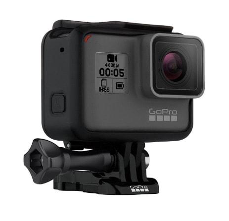 ¡Oferta! Cámara aventura GoPro HERO5 Black por menos de 300 euros