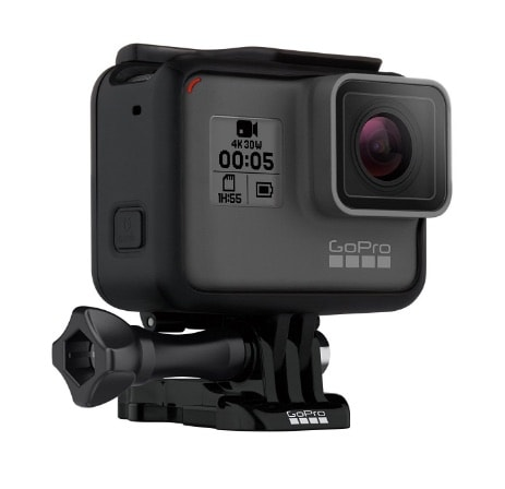 GoPro Hero5 Black - Cámara de 12 MP (4K, 1080 p, 720 p, WiFi)