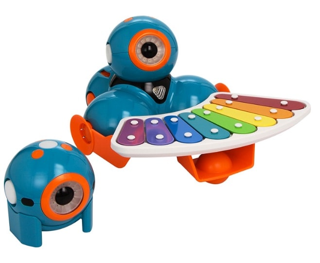 Wonder Workshop - Pack robots educativos Dash y Dot con set completo de accesorios