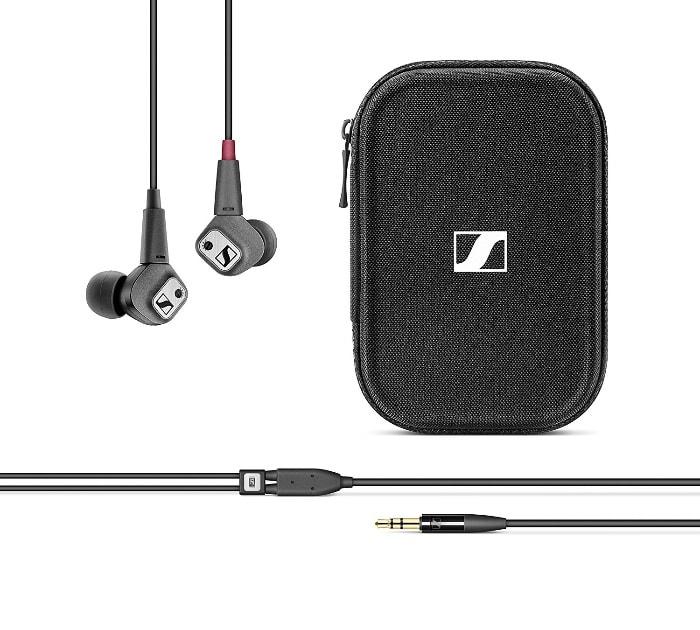 Sennheiser IE 80 S - Auriculares de alta fidelidad para iOS, color negro