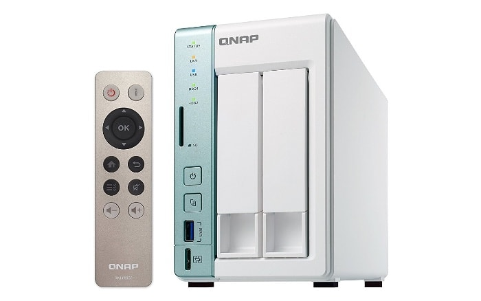 QNAP Turbo TS-251A - Dispositivo de almacenamiento en red NAS