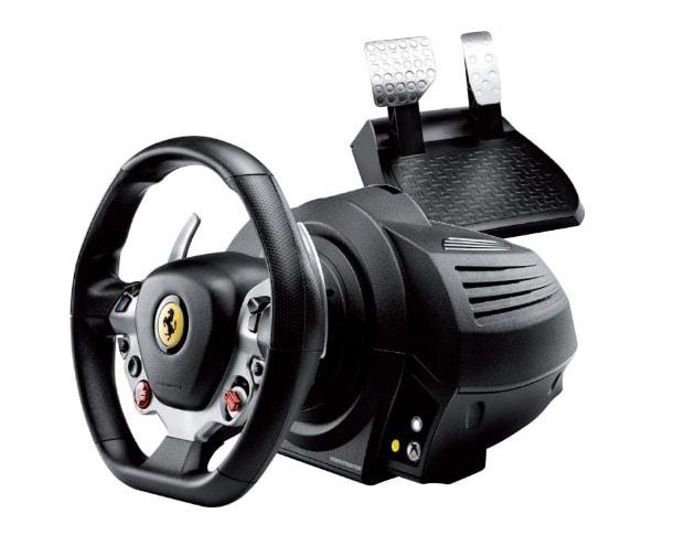 Thrustmaster - Volante TX Ferrari 458: Italia Edition (compatible con Xbox One y PC)