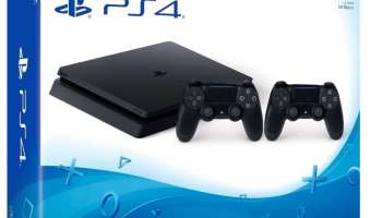 Pack Playstation 4 (PS4) con dos mandos: Playstation 4 1 TB D Chassis Slim + 2° Controller Dualshock Wireless