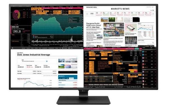 """¿Necesitas un monitor de 43"""" con resolución 4K? LG presenta 4 pantallas HD en una"""