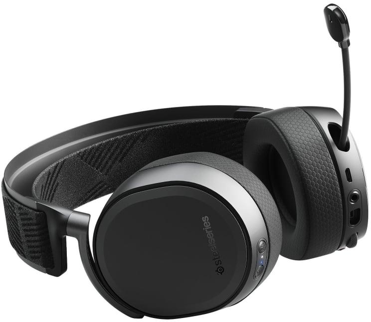 Mejor auricular premium para gaming inalámbrico con micrófono para la PS3 o PS4:SteelSeries Arctis Pro Wireless - Auriculares de juego inalámbricos