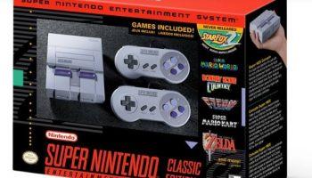 Preventa de la SNES Classic Mini para finales de agosto de 2017