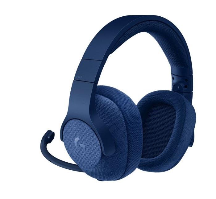 Logitech G433 - Auriculares con micrófono y cable para gaming (sonido envolvente, PC, Xbox One, PS4, Switch)