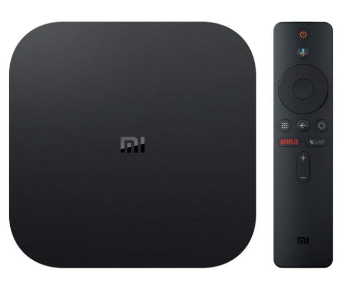 Xiaomi Mi Box S - Smart Tv Box 4K, control por voz, quad-core, RAM 2 GB, 8 GB memoria interna