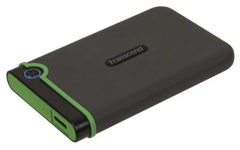 Transcend StoreJet 25M3S - Disco duro externo de 1 TB (USB 3.1 Gen 1) color Gris Hierro