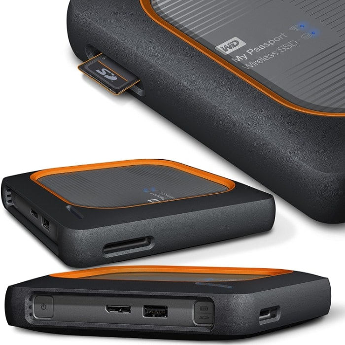 WD My Passport Wireless SSD (500GB)