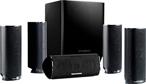 Harman/Kardon HKTS 16 - Sistema de altavoces Home Theatre con sonido envolvente 5.1