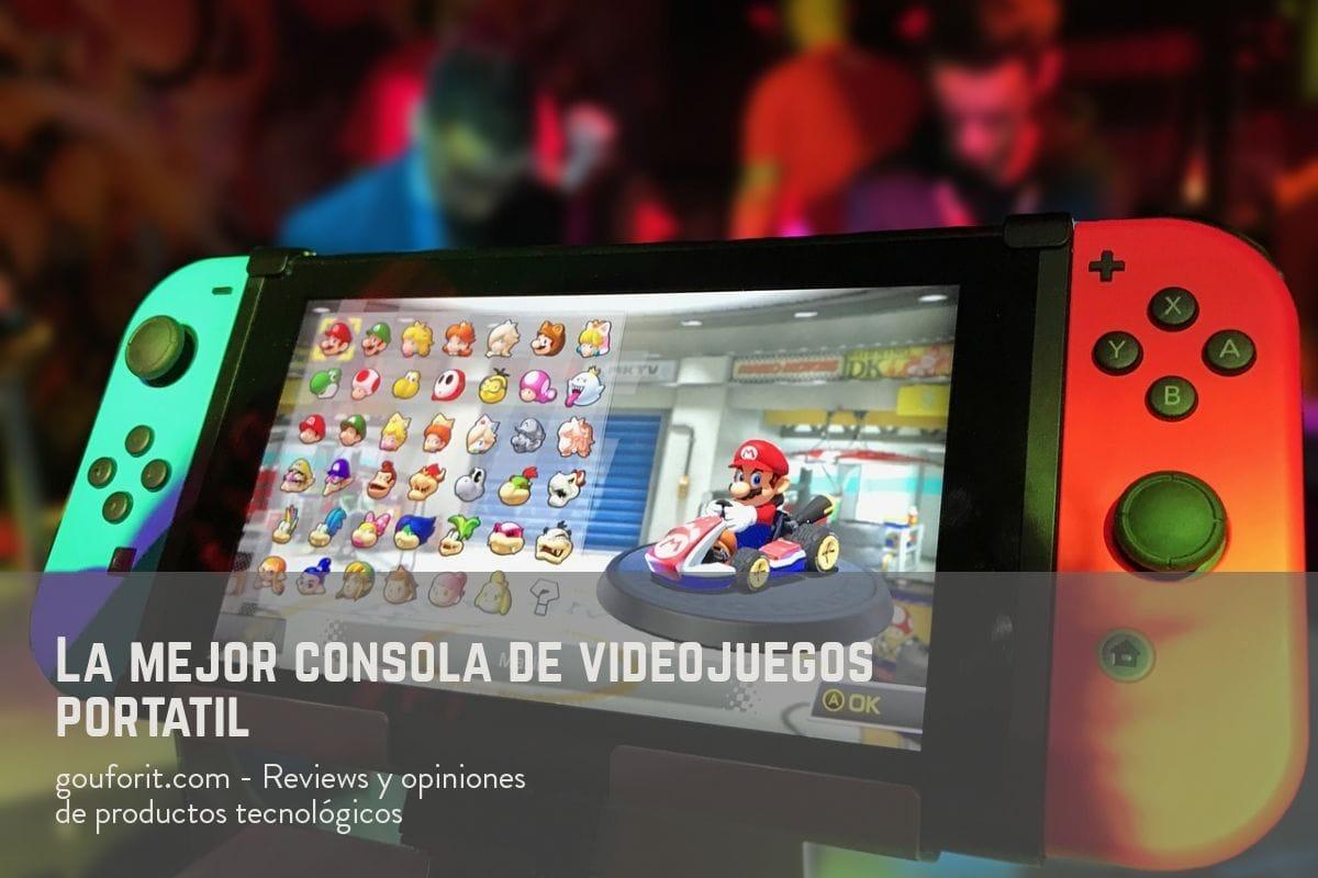 ¿Qué consola de videojuegos portátil debes comprar?
