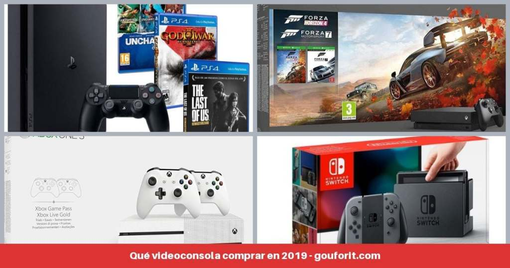 Nintendo Switch vs PS4 vs Xbox One: Qué videoconsola comprar en 2019