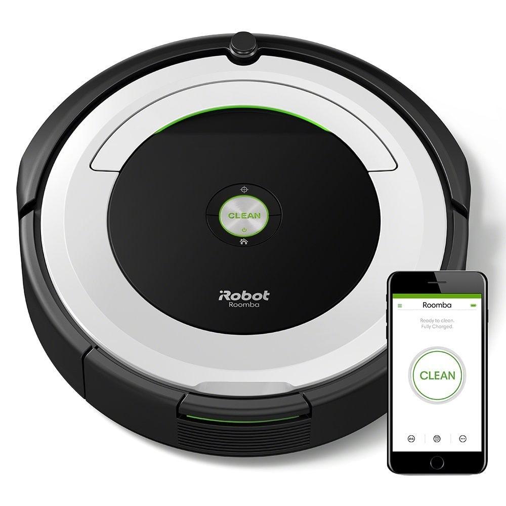 iRobot Roomba 691- Robot aspirador con WIFI para suelos duros y alfombras
