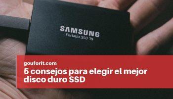 consejos para comprar el mejor disco duro SSD