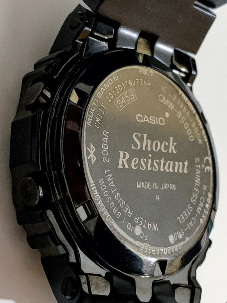 Casio G-Shock GMW-B5000GD-1ER parte trasera