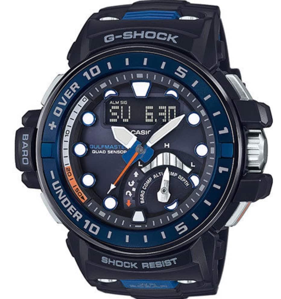 Casio G-Shock GWN-Q1000 Gulfmaster