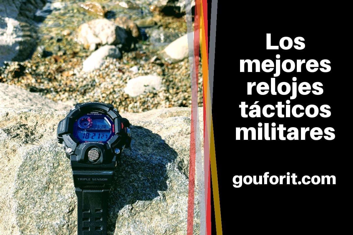 Los mejores relojes tácticos militares